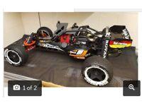 Hpi baja RC race car petrol not electric