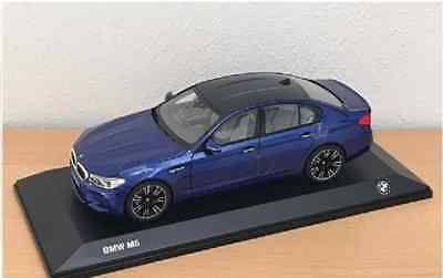 BMW M5  F90 1:18 scale Model Miniature Car Collectible Blue 80432454783 OEM