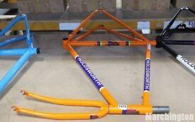 "HOLDSWORTH LA QUELDA STEEL BICYCLE FRAME AND FORKS SIZE: 56cm 22"" St Albans"