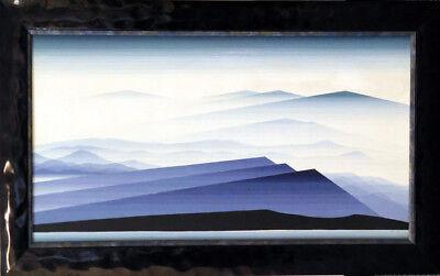 Eyvind Earle Untitled Hand Signed Original Oil on Panel MAKE an OFFER