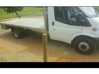 Ford transit lwb pick up 2009
