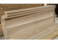 5 Pieces of NEW Russian Birch Plywood 18mm B/BB Grade 8ft x 3.5in (2440mm x 90mm)
