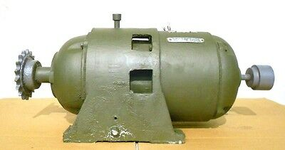 GENERAL ELECTRIC GE GEAR MOTOR & MOTOR 14L248DY14B, K225B248, 25.88:1 RATIO, 3HP