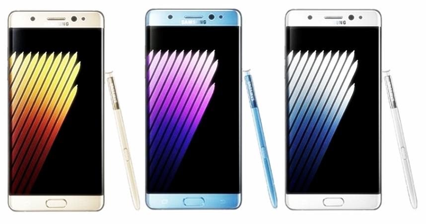 Unlocked Brand New Samsung Galaxy Note 7 FE 64GB black, gold