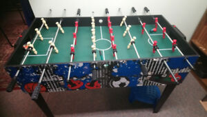 Foosball/ billiard table