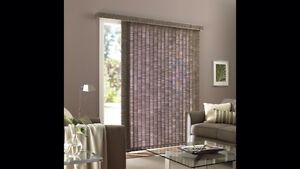 Shade-O-Matic Vertical Patio Blinds (2 sets)