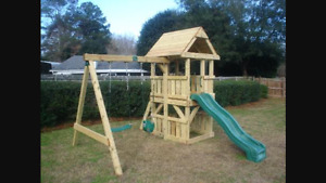 WANTED- Wooden playset