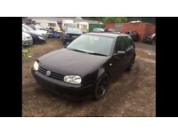 Breaking mk4 golf
