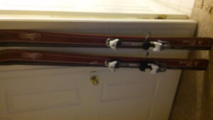 170cm Atomic Heli Daddy Skis with Diamir Bindings