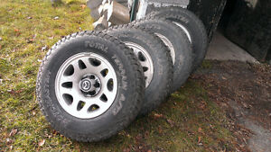LT235/75R15 tires for Mazda B series/Ranger and other makes.