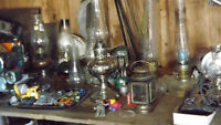 Oil Lamps - OLD & Hard to Find!
