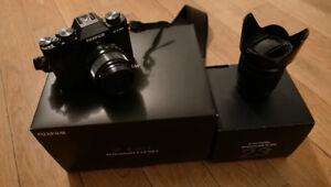 Appareil photo Fujifilm FUJI XT20 + 2 objectifs 16-50 et 23 mm