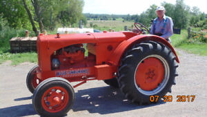 Restored  Unstyled Allis Chalmers Tractor