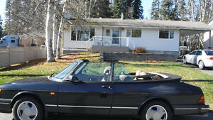 For sale: 1994 SAAB 900 turbo convertible.