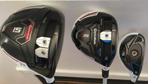 Taylormade R15 Driver Fairway and Hybrid