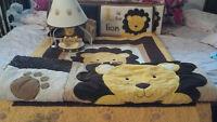 lion Crib Bedding Set