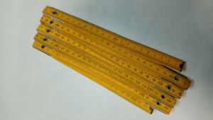 Vintage/Nostalgia/Wooden Measuring Tape LIKE NEW
