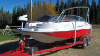REDUCED    STARCRAFT TRIHULL DECKBOAT....NO ! NOT $ 65000.00