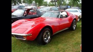 CORVETTE STINGRAY 1972  ASTRO VENTILATION