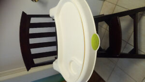 Solid wood Summer high chair