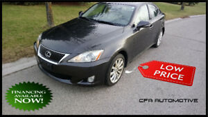 2010 Lexus IS 250, AWD, PREMIUM, NAVIGATION, Snow Tires