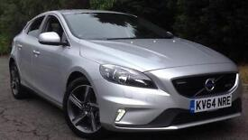2014 Volvo V40 D4 (190) R DESIGN Nav with Win Manual Diesel Hatchback