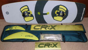 CR:X kiteboard complete w/extras (kites sold)