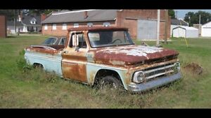 Looking for 1964-1966 GMC parts truck's