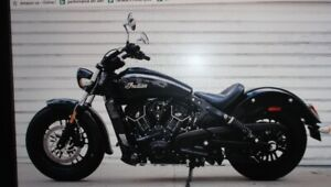 2017 INDIAN SCOUT 60 WITH LOTS OF ADDED CHROME AND LOW MILES..