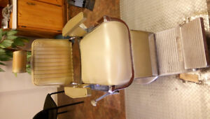 Pair of BELMONT Barber Chairs for Sale