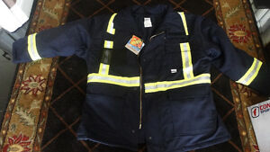 Fire and all weather safety suit. New. For Tall person