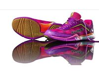 Salming ladies purple squash trainers