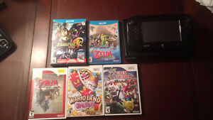 WII U w/3 Games and 3 Original Wii Games $220