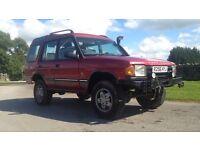 Landrover discovery 300 tdi ES fully loaded inside offroad ready not pajero 4x4 l200 navara 300tdi