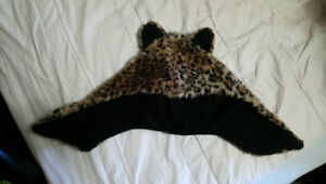 Animal print leopard winter/rave hat
