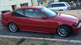 2005MY BMW 325 Ci M Sport E46 * Imola Red * Full Black Leather * Full S/History