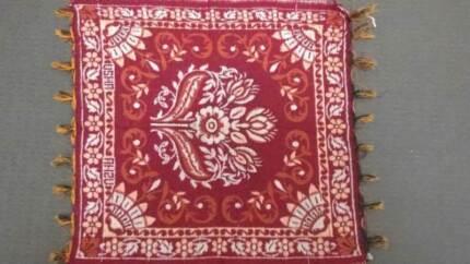 Traditional Indian Prayer/Meditation Mat, Pooja Aasan - New