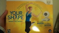 WII WORK OUT YOUR SHAPE FEATURED BY JESSE MCARTNEY FOR 25$