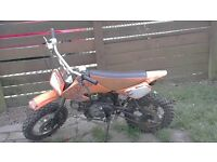 Stomp xsport 110cc pitbike