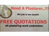 Plasterer - NO job is to small PAISLEY/GLASGOW AREA