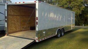 28'+ enclosed trailer