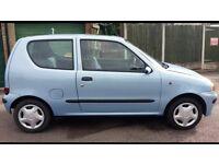 Fiat Seicento low 65k miles MOT
