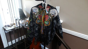 Brand new with tags Ed Hardy zipper Hoodies