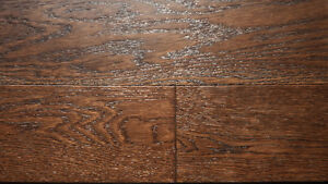 """Click or Nail 5"""" Wire Brushed Hardwood, Incredible Value London Ontario image 6"""