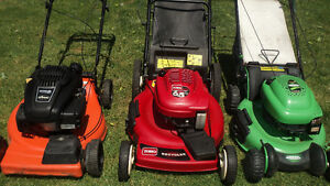 LAWN MOWERS FOR SELL