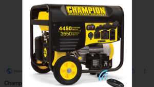 Champion generator 4450 watts