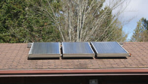 Used Solar Roof Top Panels