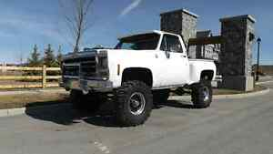 1979 Chevrolet K10 Lifted 4x4 Step Side