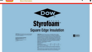 blue styrofoam