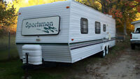 trade my  travel trailer for harley no sportsters